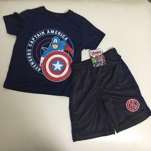 Marvel Avengers shorts set